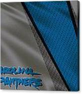 Carolina Panthers Uniform Canvas Print