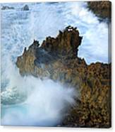 Carved By The Sea Canvas Print