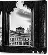 Castello Visconteo Canvas Print