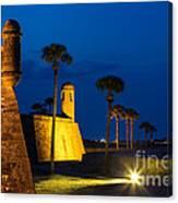Castillo De San Marcos St. Augustine Florida Canvas Print