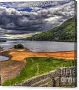 Kilchurn Castle Scotland Canvas Print