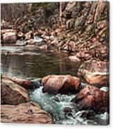 Castor River Canvas Print