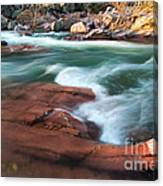 Castor River Canvas Print