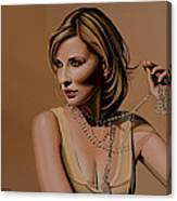 Cate Blanchett Painting  Canvas Print
