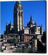 Cathedral In Salamanca Canvas Print