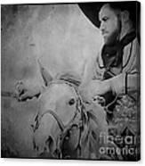 Cavalry Rides Again Canvas Print