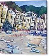 Cefalu 3 Canvas Print