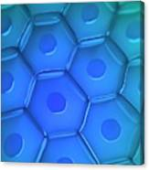 Cell Wall Canvas Print