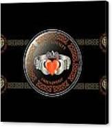 Celtic Claddagh Ring Canvas Print