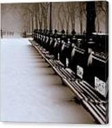 Central Park Mall Canvas Print