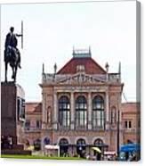 Central Railway Station Zagreb Canvas Print
