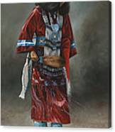 Ceremonial Red Canvas Print