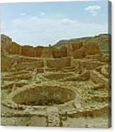 Chaco Canyon Ruins Canvas Print