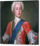 Charles Edward Stuart (1720-1788) Canvas Print