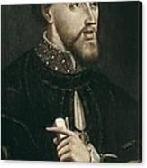 Charles V 1500-1558. Holy Roman Emperor Canvas Print