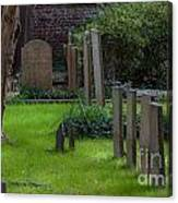 Charleston Graveyard Canvas Print