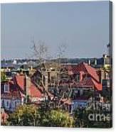 Charleston Rooftops Canvas Print