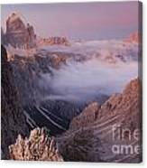 Charming Dolomites Canvas Print