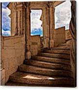 Chateau De Blois Staircase / Loire Valley Canvas Print