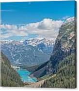 Chateau Lake Louise - Banff National Park - Canada Canvas Print