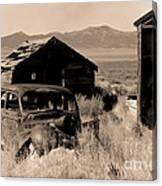 Cherry Creek   Nevada Canvas Print
