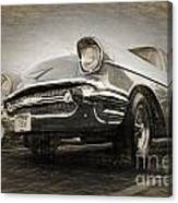 Chevrolet Belair 1957 Canvas Print