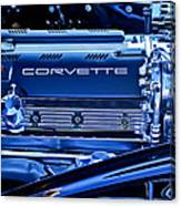 Chevrolet Corvette Engine Canvas Print