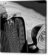 Chevrolet Grille Emblem - Head Light 1 Canvas Print