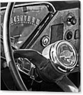 Chevrolet Steering Wheel Emblem Canvas Print
