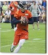 Chicago Bears Qb David Foles Training Camp 2014 05 Canvas Print