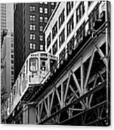 Chicago Loop 'l' Canvas Print