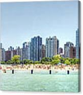 Chicago North Avenue Beach Canvas Print