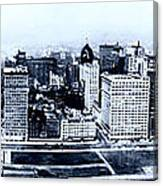 Chicago Panorama 1915 Canvas Print