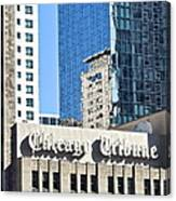 Chicago Tribune Canvas Print