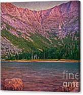 Chimney Pond Canvas Print