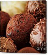 Chocolate Truffles Canvas Print
