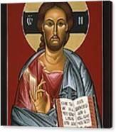 Christ All Merciful 022 Canvas Print