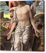 Christ As The Suffering Redeemer  Canvas Print