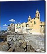 church in Camogli Canvas Print