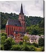 Church Of Our Lady  Oberwesel Am Rhein Canvas Print
