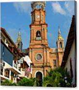Church Of Our Lady Of Guadalupe (la Canvas Print