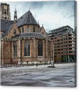 Church Of St Lawrence In Rotterdam Canvas Print