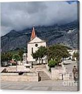 Church Of St.mark Makarska Canvas Print