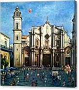 Church Square Havana Canvas Print