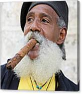 Cigar Man Canvas Print