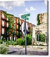 Cincinnati Glencoe-auburn Place Picture Canvas Print