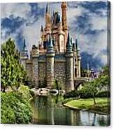 Cinderella Castle II Canvas Print