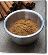 Cinnamon Spice Canvas Print