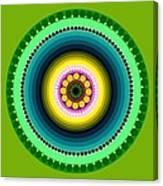 Circle Motif 225 Canvas Print
