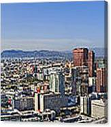 City Of Los Angeles Canvas Print